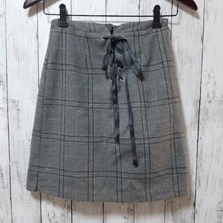 バイバイ(ByeBye)のByeBye♡レースアップスカート♡チェックスカート♡(ミニスカート)