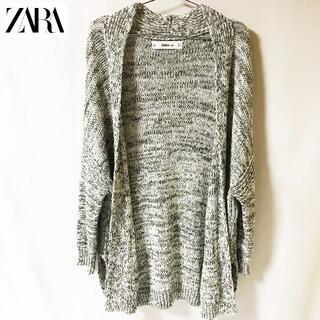 ZARA - 【ZARA】ザラ ロングカーディガン ニット