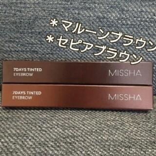 MISSHA - ミシャ MISSHA 7デイズ ティンティッドアイブロウ