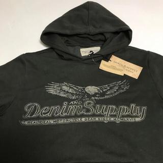 デニムアンドサプライラルフローレン(Denim & Supply Ralph Lauren)の ラルフローレン 星条旗バックプリント パーカー 売り切り‼︎(パーカー)
