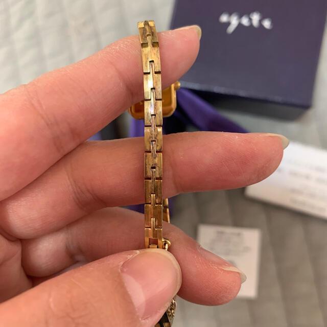 agete(アガット)のアガット ゴールド 時計  レディースのファッション小物(腕時計)の商品写真