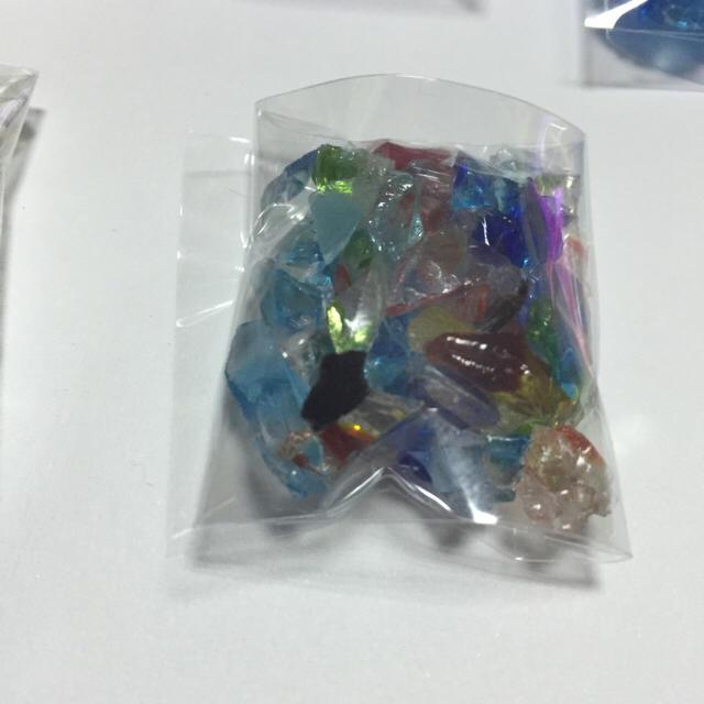 琉球ガラスカレット ハンドメイドの素材/材料(その他)の商品写真