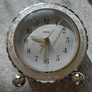 置時計 アラーム付き ライト付き(置時計)
