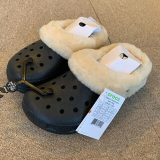 crocs - クロックス クラシックマンモス ラックス 黒 23~23.5cm