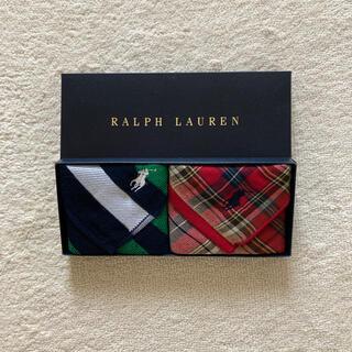 POLO RALPH LAUREN - ラルフローレン タオルハンカチ 2枚