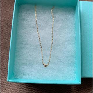Tiffany & Co. - ティファニー バイザヤード k18 ネックレス