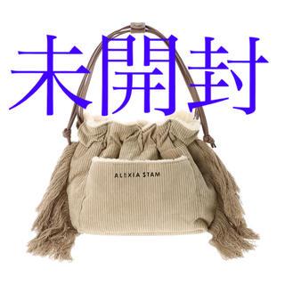 アリシアスタン(ALEXIA STAM)のReversible Drawstring Bag Beige(ショルダーバッグ)