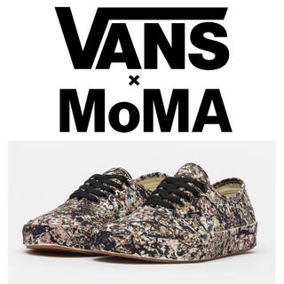 VANS - MOMA Authentic Jackson Pollock Vans Vaul