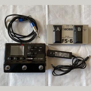 ヤマハ(ヤマハ)の【値下げ】LINE6 HX STOMPとBOSS フットスイッチFS-6(エフェクター)