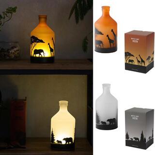 Francfranc - 新品 ボトル ライト ビスタ 2点セット 照明 寝室 お洒落 持ち運び LED