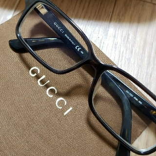Gucci - GUCCI スクエア 眼鏡  ケース セット