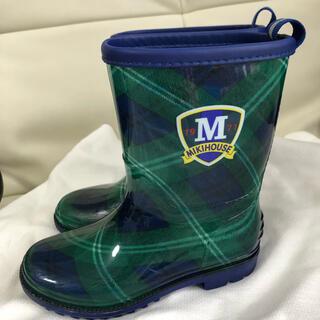 ミキハウス(mikihouse)のミキハウス  長靴 17センチ 美品(長靴/レインシューズ)