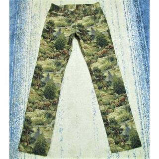 ポールスミス(Paul Smith)のポールスミス 総柄刺繍パンツ 渓谷 カウボーイ 森林 日本製(チノパン)