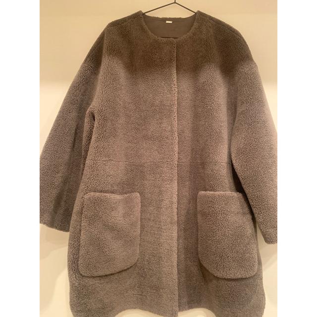 Mila Owen(ミラオーウェン)のミラオーウェン ボアコート レディースのジャケット/アウター(ムートンコート)の商品写真