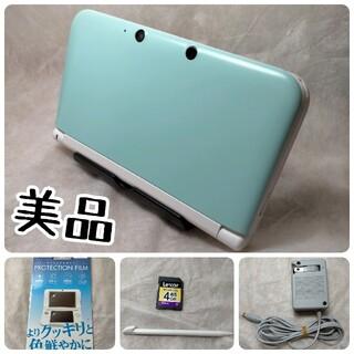 ニンテンドー3DS - 美品 Nintendo 3DS  LL 本体ミント/ホワイト