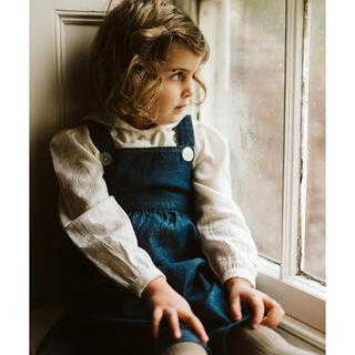 Caramel baby&child  - little cotton clothes セーラーカラーブラウス3-4y