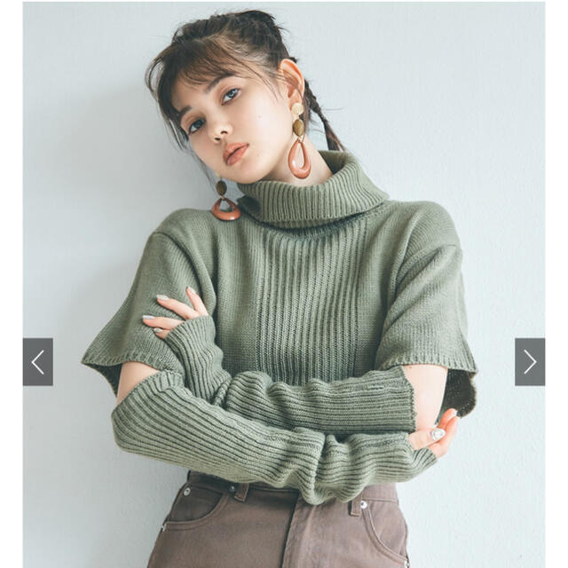 GRL(グレイル)のGRL ニット レディースのトップス(ニット/セーター)の商品写真
