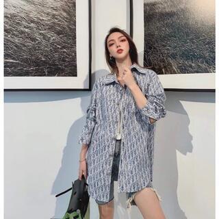 Christian Dior - プリント デニムシャツ 長袖OBLIQUEDior