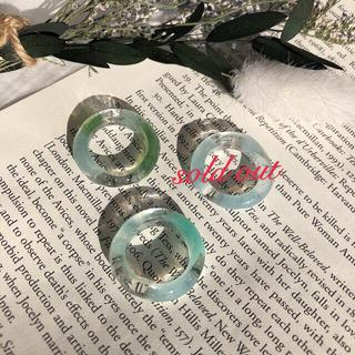 アーバンリサーチ(URBAN RESEARCH)のblue green ring(リング)