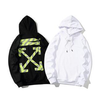 OFF-WHITE - 二枚12000円OFF WHITEオフホワイトパーカー長袖204#