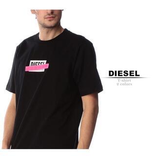 ディーゼル(DIESEL)のDiesel Tシャツ リフレクター ブラック  M ディーゼル(Tシャツ/カットソー(半袖/袖なし))