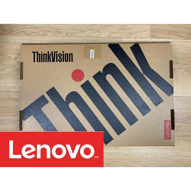 Lenovo(レノボ)のLenovo ★ ThinkVision T24i-20 23.8 モニター スマホ/家電/カメラのPC/タブレット(ディスプレイ)の商品写真