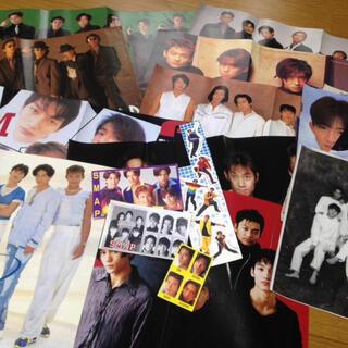 スマップ(SMAP)の【貴重】SMAP6人時代の雑誌切り抜き&付録ポスター(アート/エンタメ/ホビー)