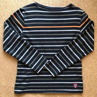 アーバンリサーチ(URBAN RESEARCH)のアーバンリサーチ ボーダーカットソー 38サイズ(Tシャツ/カットソー(七分/長袖))