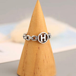 Ameri VINTAGE - Hマーク シルバー925  SILVER 925 リング指輪