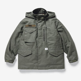 W)taps - 20AW WTAPS WSFM JACKET COTTON TWILL XL