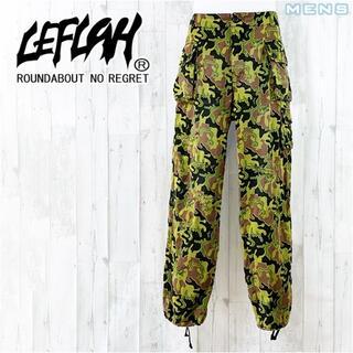 NEIGHBORHOOD - LEFLAH 裾絞りカモフラ柄ダメージ加工カーゴパンツ L w90cm / 35