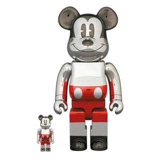 メディコムトイ(MEDICOM TOY)のBE@RBRICK FUTURE MICKEY 2nd 100% & 400%(その他)