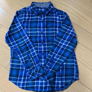 ユニクロ(UNIQLO)のユニクロ チェックネルシャツ140(Tシャツ/カットソー)