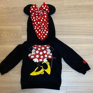 ディズニー(Disney)のミニーマウスパーカー 90cm(ジャケット/上着)