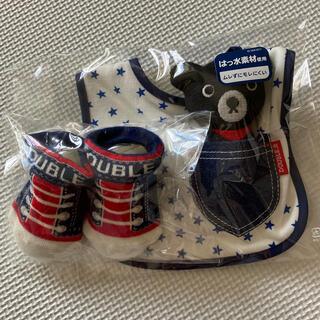 ダブルビー(DOUBLE.B)のミキハウス DOUBLE.B スタイ、靴下、おもちゃ(その他)