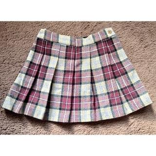 ベベ(BeBe)の【BeBe】サイズ110 プリーツミニスカート(スカート)