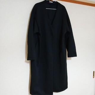 GU - 試着のみ  GU 黒 ロングコート