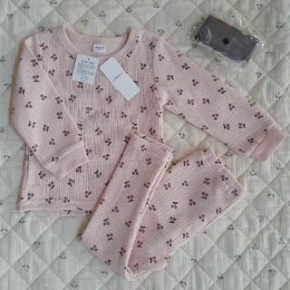 しまむら - さくらんぼパジャマ ルームウェア 95