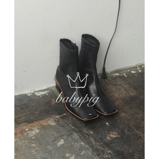 TODAYFUL - todayful  Stretch Leather Boots 38