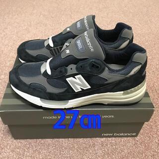 New Balance - New Balance M992  ネイビー 27センチ