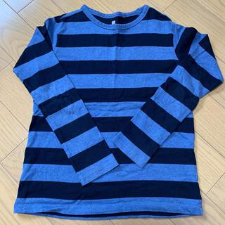 ユニクロ(UNIQLO)のユニクロ ボーダーカットソー150(Tシャツ/カットソー)