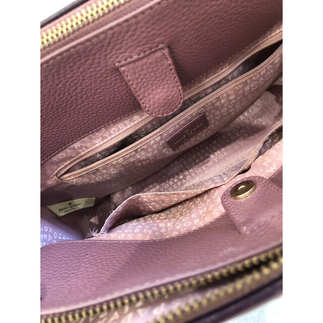 kate spade new york(ケイトスペードニューヨーク)のkate spade ハンドバッグ 2way ピンク レディースのバッグ(ハンドバッグ)の商品写真