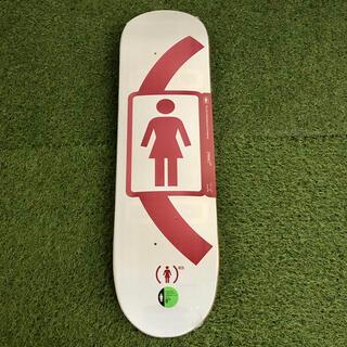 ガール(GIRL)のGIRL ガール 8.0インチ RED SM デッキ(スケートボード)