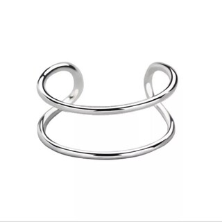 アーバンリサーチ(URBAN RESEARCH)のr15】シンプル ダブル ライン デザインリング 指輪 シルバー(リング(指輪))