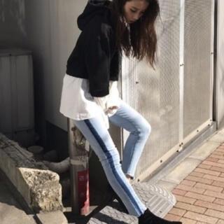 エモダ(EMODA)の❁︎ EMODA❁︎スキニーデニムパンツ パギンス【0】(デニム/ジーンズ)