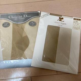 クリスチャンディオール(Christian Dior)のストッキング2足セット クレージュ DIOR(タイツ/ストッキング)