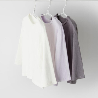ZARA KIDS - Zara 今期完売品 新品 ベビーガール 長袖Tシャツ3枚組