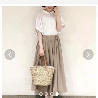 SM2 - サマンサモスモス リネンギャザースカート