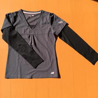 ニューバランス(New Balance)のカメチンお取り置き中  new balance  長袖シャツ サイズM(シャツ/ブラウス(長袖/七分))