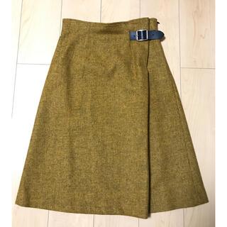 オニール(O'NEILL)のオニールオブダブリン  ヘビーバックルツイードスカート(ひざ丈スカート)